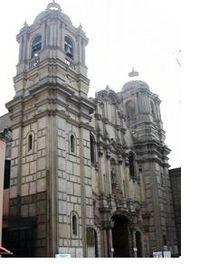 Santuario de Las Nazarenas de Lima-Perú.