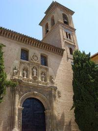 Iglesia de Santa Ana de Granada.