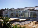 Casa Kerr, Melbourne Beach, FL (1950-1951), con Ralph Twitchell