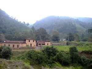 Vista de la casona principal de la Hacienda La Victoria