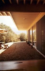 Casa Johnson, 54 Rancheria, Carmel Valley, California (1962)