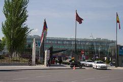 Pabellón central del Recinto ferial, Madrid (1986-1989)