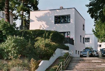 Weissenhof photo house Adolf Gustav Schneck south west side Stuttgart Germany 2005-10-08.jpg