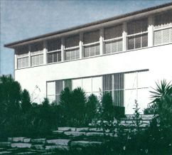 Casa Hungría Machado, Río de Janeiro (1942-1943)