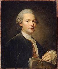 Ange-Jacques Gabriel, retratado por Jean-Baptiste Greuze (Museo del Louvre).