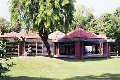 Museo en Memoria de Gandhi, Ahmedabad, India. (1958-1963)