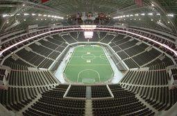 Vista Interior de la Arena Monterrey.