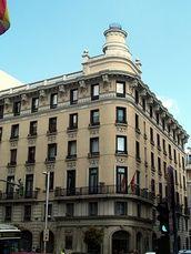 Antiguo Hotel Roma, Madrid, con Felipe de Sala (1913)