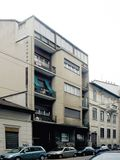 Edificio de viviendas Toninello, Milán (1933), con Pietro Lingeri
