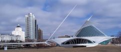 Milwaukee Art Museum, Milwaukee, EE. UU. (1994-2001)