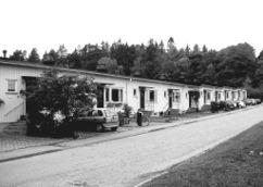 Viviendas adosadas en Norra Ängby, Bromma, Estocolmo (1931-1940)