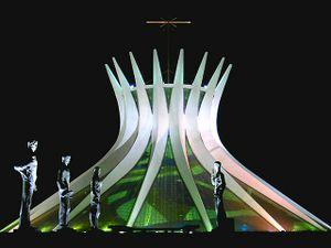 La Catedral de Brasilia, de Oscar Niemeyer