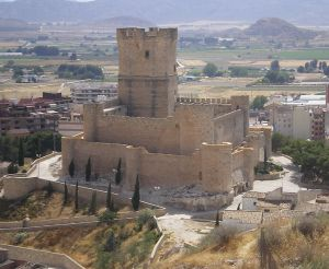 Imagen del Castillo de Villena.