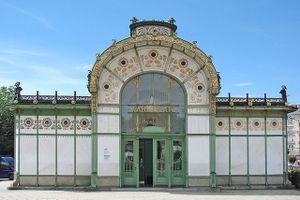 Otto Wagner.Estacion metro Karlsplatz.1.jpg