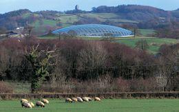 Gran Casa de Cristal, Carmarthenshire, Reino Unido (1995-2000)