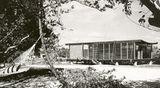 Casa Cocoon, pabellón de invitados de la casa W. R. Healy, Siesta Key (1950), con Ralph Twitchell