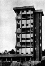 Torre Residencial en Parque de Vista Alegre, Zarauz, España. (1959-1960)