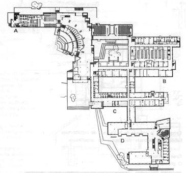 Alvar Aalto.Universidad Técnica de Otaniemi.Planos1a.jpg