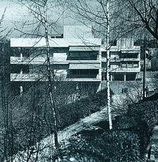 Apartamentos Doldertal. Zurich  (1936) con A. y E. Roth