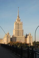 Hotel Ukrania, Moscú, junto con V. Oltarzhevsky (1947-1957)