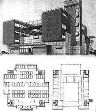 Proyecto de Sede para Orgamental en Moscú (1926-1927)