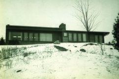 Casa de Harry D. Hoey, Director de Cranbrook School, Bloomfield Hills (1940)