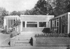 Prototipo de casa de madera transportable para la exposición Gugali de Legnica (1927)