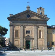 Reconstrucción de la Iglesia de la Madonna del Piano, Capranica (1559)