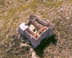 Vista aérea del Castillo de Forna
