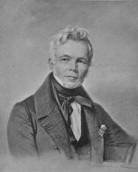 Retrato de Friedrich Schinkel