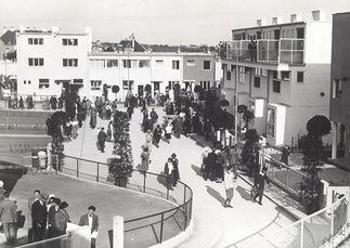 Día 4 de junio de 1932, inauguración de la Werkbund