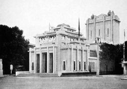 Pabellón belga, de Victor Horta