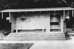 Sauna del pabellón de Finlandia para la Exposición Internacional de Bruselas de 1958 (1956-1958)