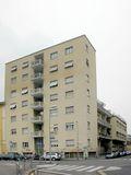 Edificio de viviendas Comolli Rustici, Milán (1934-1935), con Pietro Lingeri