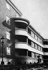 Viviendas en el Parkring, Insterburg (Alemania) (1923-1924)