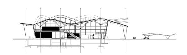 LuisVidal.TerminalAeropuertoZaragoza.Sección.jpg