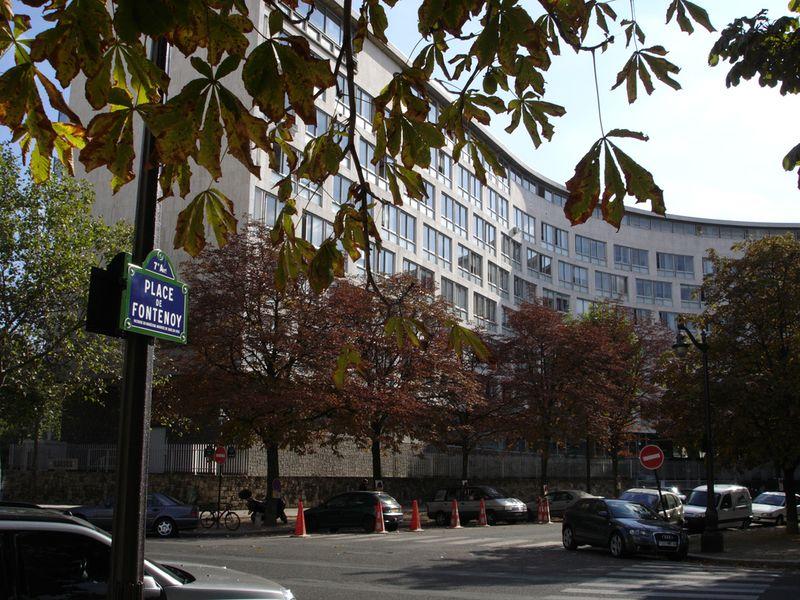 Archivo:UNESCO Headquarters in Paris from Flickr 81486733.jpg