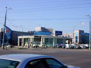 Estación de metro Universitet - Exterior del vestíbulo