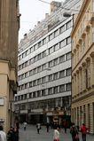Palacio Alfa en calle Jánská & Poštovská, Brno (1937)