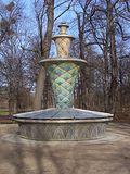Fuente de mosaico en el Grosser Garten de Dresde (1926)