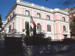 palacio de los duques de Híjar, (hoy Embajada de Portugal), Madrid (1906)