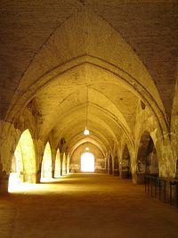 Interior de las reales atarazanas de Sevilla