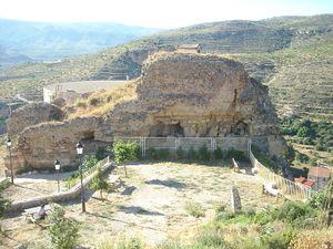 Castillo de Ademuz. Vista parcial