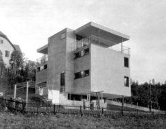Casa Huber-Zweifel, Riehen (1929-1930) junto con Paul Artaria