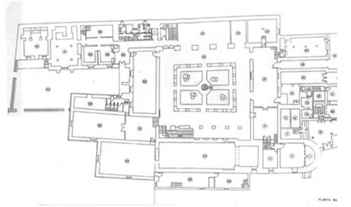 Monasterio de san vicente el real.Segovia.Planta.jpg