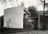 Casa del jardinero en la mansión de André Bloc, Meudon (1955-1956)
