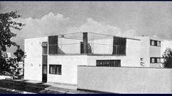 Dos casas prefabricadas en la Colonia Weissenhof, Stuttgart (1927)