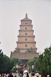 Gran pagoda del ganso salvaje.