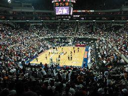 Básquetbol en la Arena Monterrey.