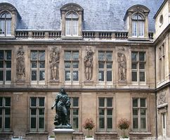 Hotel Carnavalet, Rue de Sévigné, París (c. 1650)